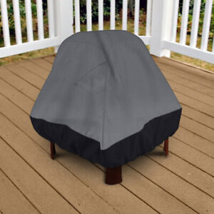 """Premium Patio Stand-Up Fire Pit Outdoor Cover 35"""" Height Da…1090"""