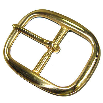 "Center Bar Buckle 1-1/2"" (38 mm) Solid Brass 1722-01"