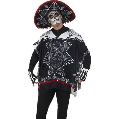 Halloween Kostüm Tag der Toten Bandit Poncho Kostüm Mexikanisch von - Bandit Kostüm Halloween
