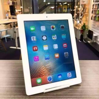 Mint condition iPad 3 64gb wifi cellular silver unlock warranty