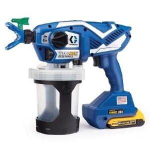 NEW Graco 17M367 Ultra Max Cordless Airless Handheld Paint Sprayer