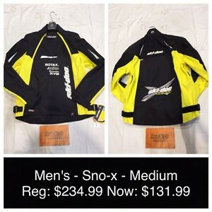 MENS NEW SKI-DOO JACKET