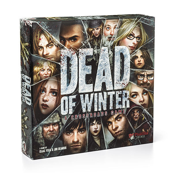 Dead of Winter is a meta-cooperative psychological survival game.