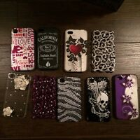 9 - iPhone 4S cell phone cases (sparkly + girly)