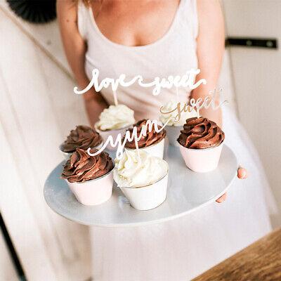 6 Cupcake Wrappers in 2 Designs | Silber Rosa Grau| Muffin-Förmchen Hülle Backen ()
