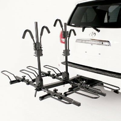 "NEW Hollywood Racks HR1400 Sport Rider SE 4-Bike Platform Hitch Rack- 2"" Hitch"