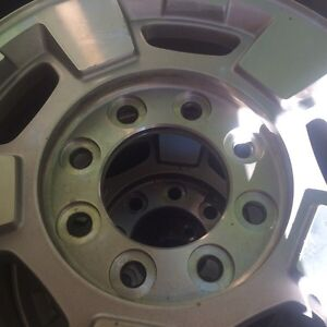 Factory Chevy rims 8 bolt