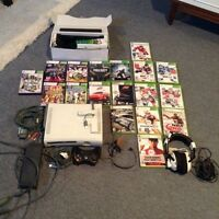 Xbox360 - 60gb - games and accessories