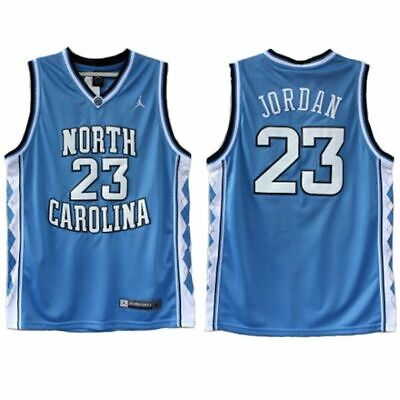 NWT Michael Jordan #23 North Carolina Tar Heels Stitched Basketball Jersey (Carolina Tarheels Basketball)