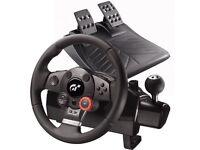 Logitech Steering Wheel PS3 PS2