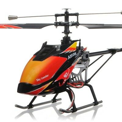 Wltoys V913 27Inch 2 4G 4Ch Rc Remote Control Single Blade Helicopter Us