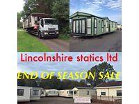 Static caravans for sale ~~ 01949 843221