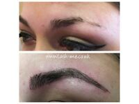 Microblading, semi-permanent eyebrows