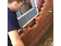 NVQ 3 qualified bricklayer with 8 years experience looking for work
