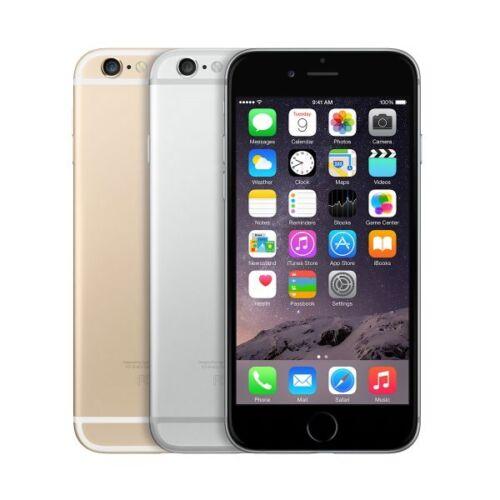 "Apple iPhone 6 16GB ""Factory Unlocked"" 4G LTE 8MP Camera iOS WiFi Smartphone"
