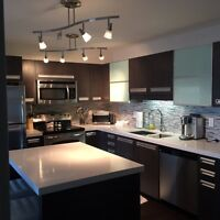 Fully Furnished 2B condo for rent