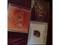 Three cds for sale