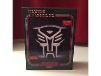 Transformers lamp