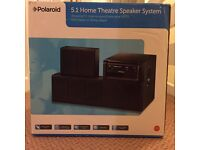 POLAROID 5.1 HOME THEATRE SPEAKER SYSTEM