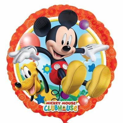 45.7cm Disney Mickey Mouse Pluto Clubhouse Kinder Party Runder Folienballon
