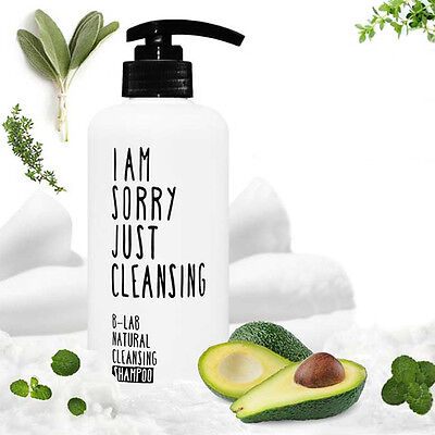 B-LAB I AM SORRY JUST CLEANSING Natural Cleansing Shampoo 520ml Hypoallergenic
