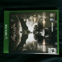 Batman Arkham Knight for Xbox One. Mint condition