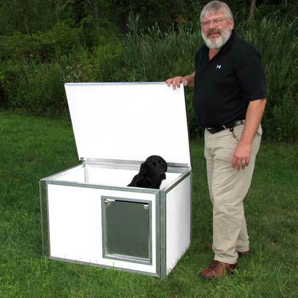 LCS Knockdown Dog Box