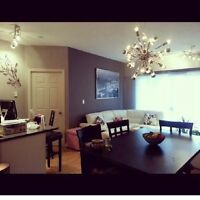 Downtown fully furnished 2 bed 2 bath 1 heated park 1550/mth
