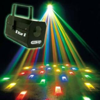 STAR disco party light $29  we also hire lights and sound