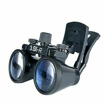 Dental 3.5x Clip Type Binocular Loupes Magnifier Dy-110 For Glasses Us Stock