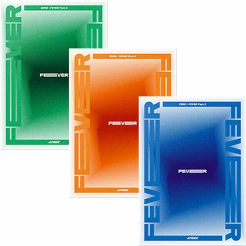 ATEEZ ZERO : FEVER PART.3 Album CD+POSTER+Photo Book+9 Card+Sticker+GIFT SEALED