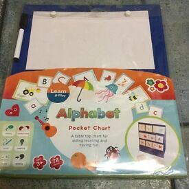 Alphabet Pocket Chart - Learn & Play