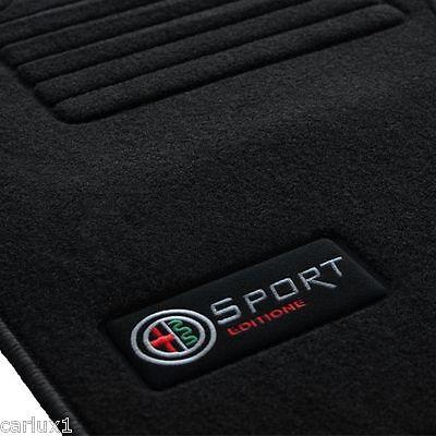 Alfombrillas Alfombras a medida para ALFA ROMEO GT Edition Velour desde 2003-