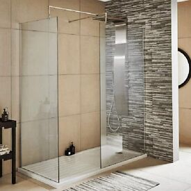 walk-in shower screens