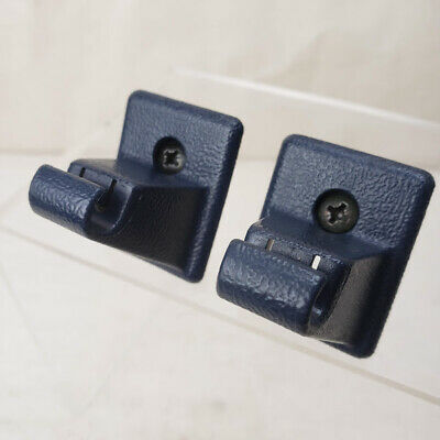 1992-1999 Chevy Suburban Tahoe Sun Visor Clip Pair Blue with Screw
