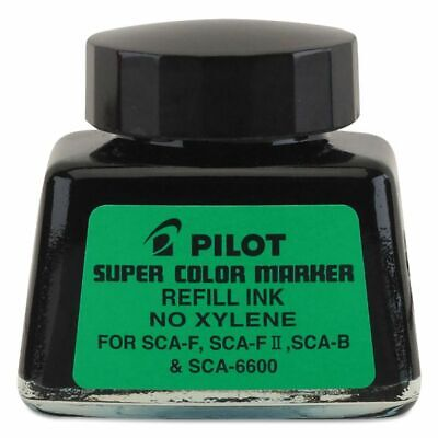 Pilot Super Color Marker Refill Ink No Xylene 30ml Black Ink