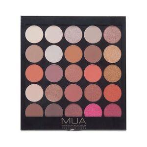 MUA Make Up Academy 25 Shade Eyeshadow Palette Burning Embers Eyeshadow 030
