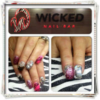 Wicked Nail Bar now hiring Full and Part time Manicure/Pedicure