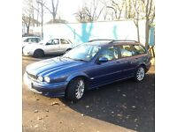 Jaguar estate 2004 X type Reg 2004 engine size 2.0 diesel