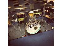 SJC Custom Drums w/ Hardcases