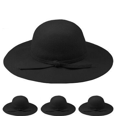 WHOLE SALE WINTER HAT WOMEN %100 WOOL VINTAGE BLACK Hat Formal VALENTINES GIFT