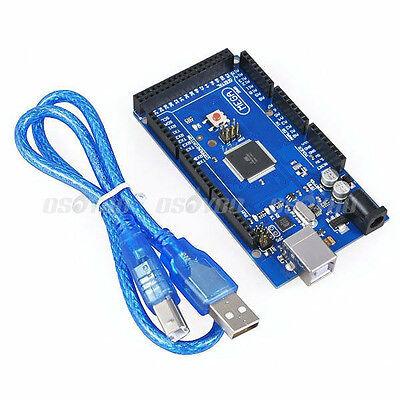 Arduino Mega2560 R3 Atmega16u2 Atmega2560-16au Development Board Usb Cable