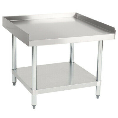 Cmi Commercial Stainless Steel Equipment Grill Stand With Undershelf 30x30