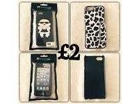 2 cases for iPhone 5 - 5s - 5G