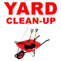 YARD WORK FALL/SPRING CLEAN UP
