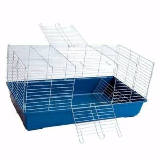 Large plastic rabbit or guinea pig hutch