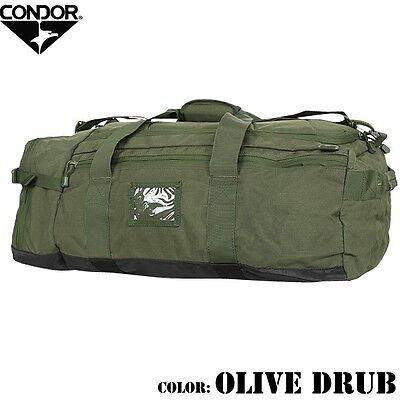 Condor 161 OD GREEN COLOSSUS Tactical Duffle Bag Backpack Shoulder Bag