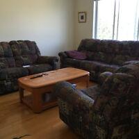 table de centre en bois