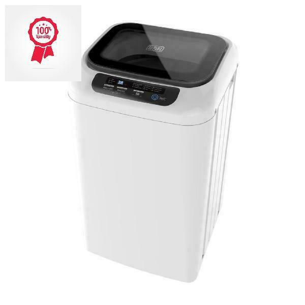 BLACK+DECKER 0.9 Cubic Foot Compact Portable Washer Clothes