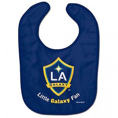 Los Angeles Galaxy Fan - Los Angeles Galaxy MLS Little Fan Baby Feeding Bib Infant Toddler Newborn Shower